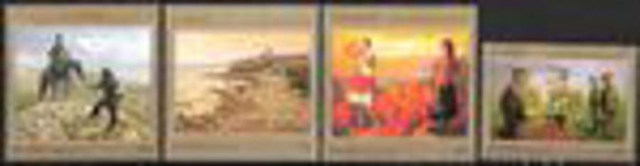 Почтовая марка Россия 2016 № 2168-2171 Современное искусство России