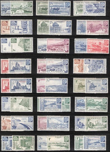 Набор № 1 - 48 марок ** из 24 стран