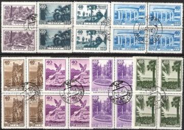 Гашеные почтовые марки СССР 1949 Загорский № 1262-1269 - Квартблок
