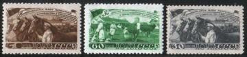 Почтовая марка СССР 1948 г Загорский № 1194-1196**