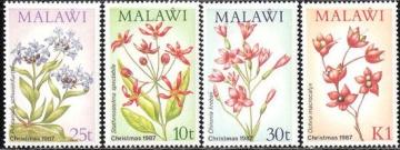 Почтовая марка Флора. Малави. Михель № 489-492