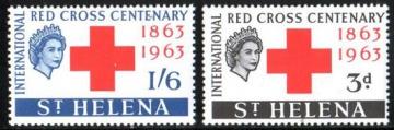 Почтовая марка Остров Святой Елены. Михель № 161-162