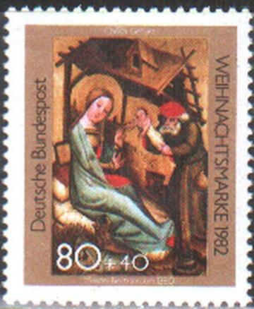 Рождество. Германия . Михель № 688