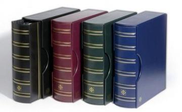 Держатель Grande для марок, комплект из папки-переплёта и футляра.