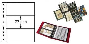 Листы в альбомы серии OPTIMA для бон ( прозрачный пластик )