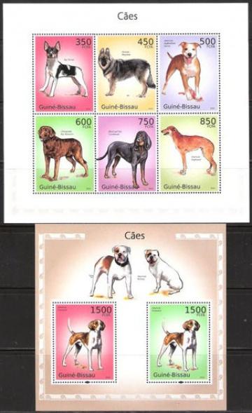 Почтовая марка НК. Гвинея-Бисау. Михель № 5065-5070 и ПБ № 872
