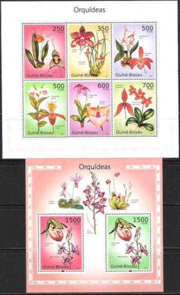 Почтовая марка НК. Гвинея-Бисау. Михель № 4977-4982 и ПБ № 861